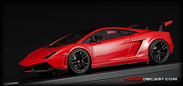 The 1 43 Lamborghini Gallardo Super Trofeo Stradale From Looksmart