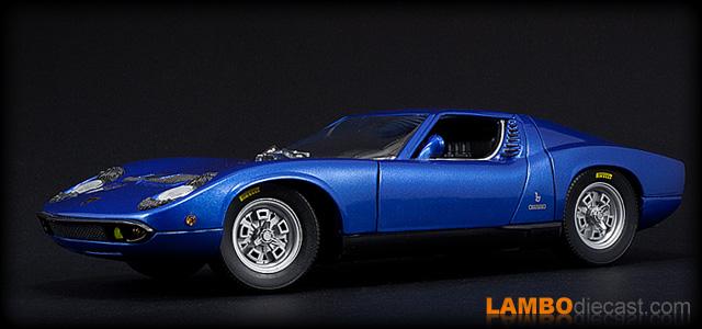 The 1 18 Lamborghini Miura P400 From Anson A Review By Lambodiecast Com
