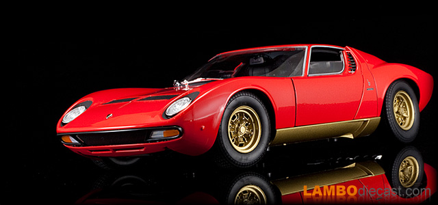 The 1 18 Lamborghini Miura P400sv From Welly A Review By
