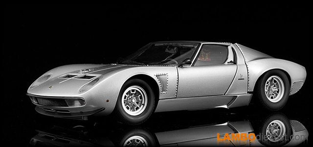 The 1 18 Lamborghini Miura Svj From Kyosho A Review By Lambodiecast Com