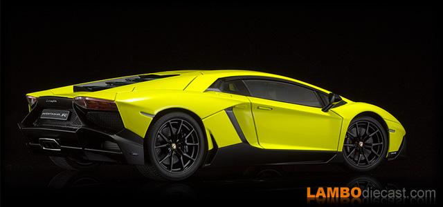 The 1 18 Lamborghini Aventador Lp720 4 From Autoart A