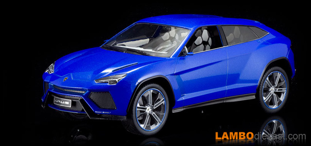 The 1/18 Lamborghini Urus Concept from Model Car Group, a review by Lamborghini Urus Blue on blue ducati, lambo urus, blue ferrari, blue lamborghini concept s,