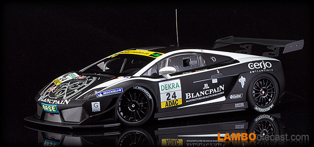 Lamborghini Gallardo LP600 by Minichamps