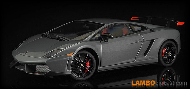 The 1 18 Lamborghini Gallardo Super Trofeo Stradale From Autoart A
