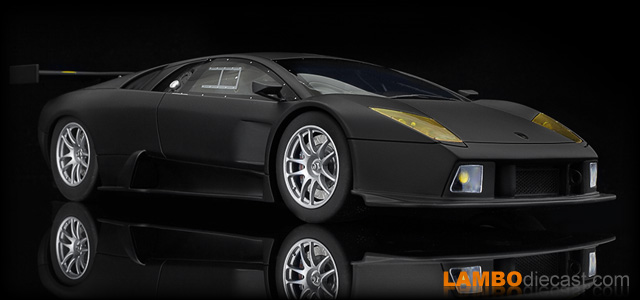 The 1 18 Lamborghini Murcielago R Gt From Kyosho A Review By