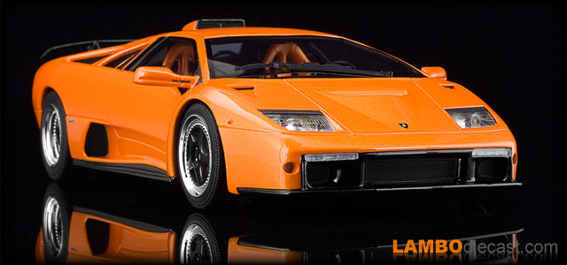 The 1 18 Lamborghini Diablo Gt From Kyosho A Review By Lambodiecast Com