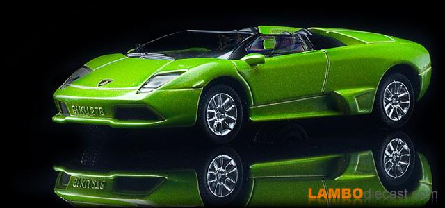 The 1 64 Lamborghini Murcielago Lp640 Roadster From Siku A Review