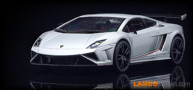 The 1 43 Lamborghini Gallardo Lp570 4 Squadra Corse From Ixo A
