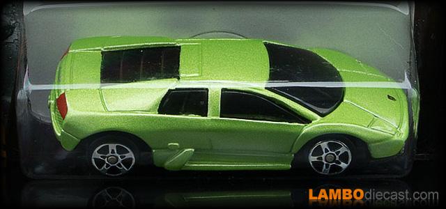 DIE CAST MIB 1:43 #59 MAZZANTI EVANTRA 2013 SUPERCARS GT C